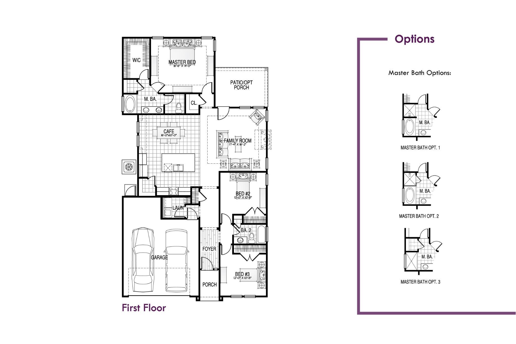 Allendale II Floorplan