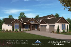 Lot 15 in The Parklands at Camas Meadows : Clark County Parade of Homes 2018