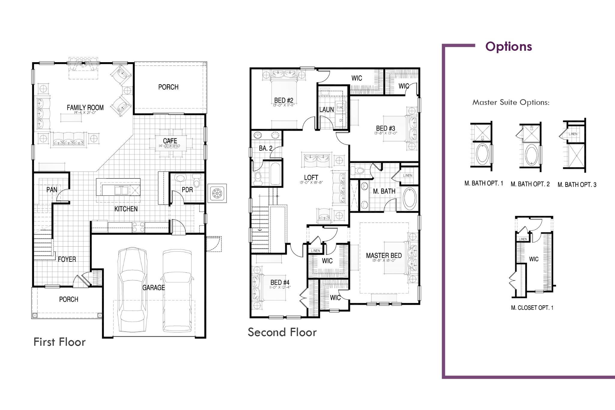 DelMar II Floor Plan