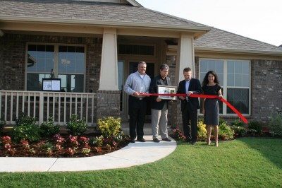 Homes for Hope Ribbon Cutting in Somer's Pointe