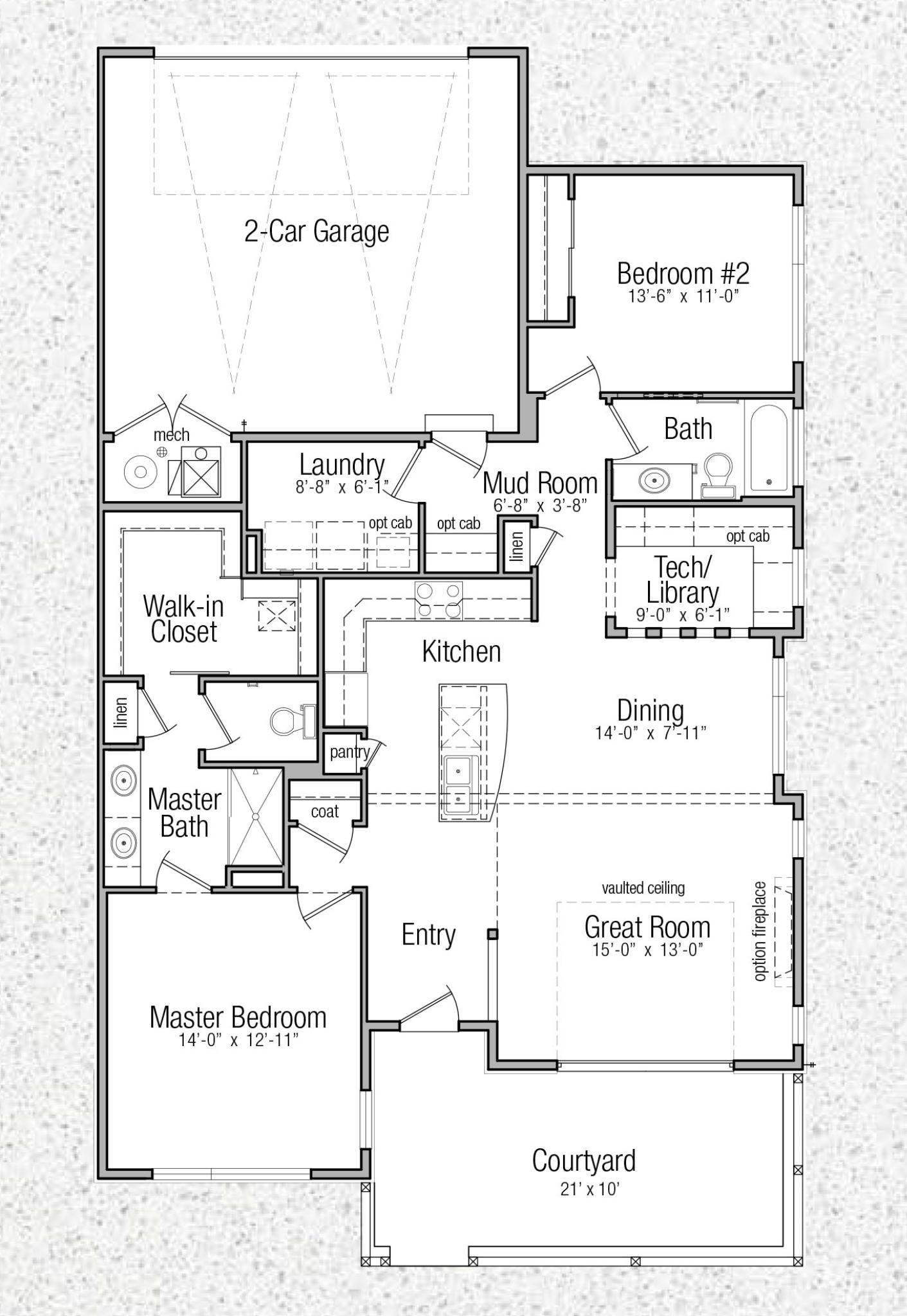 Floor Plans Terrace Townhomes