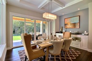 Dining Nook - a large Milgard picture window allows for 35 SqFt of Natural Light