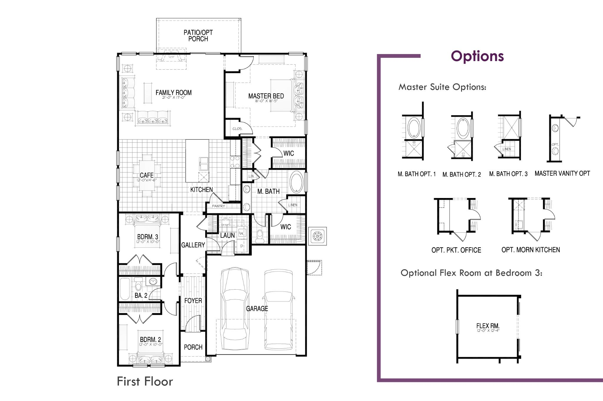 Keeneland Floor Plan
