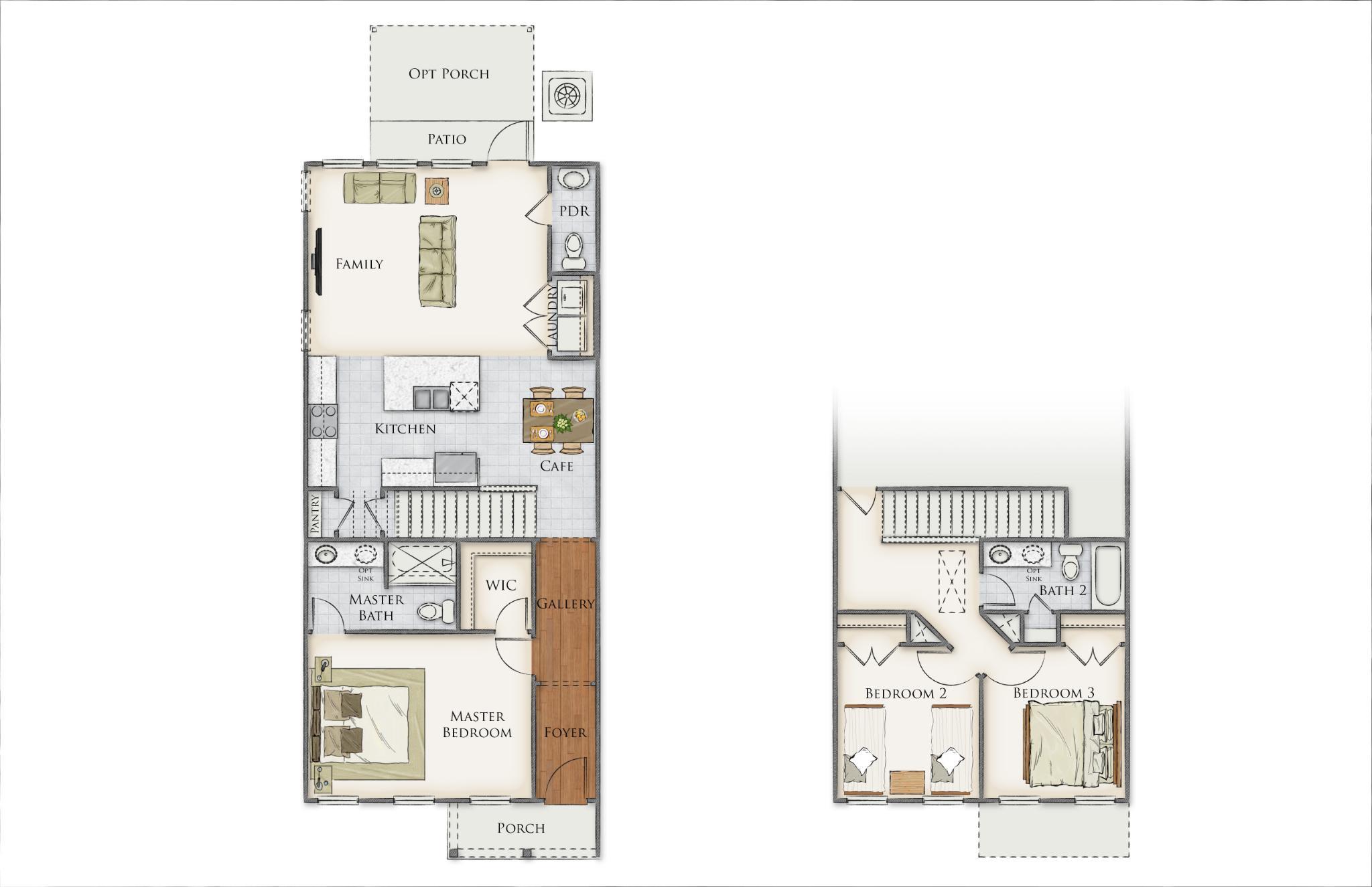 Ellis Creek Floor Plan