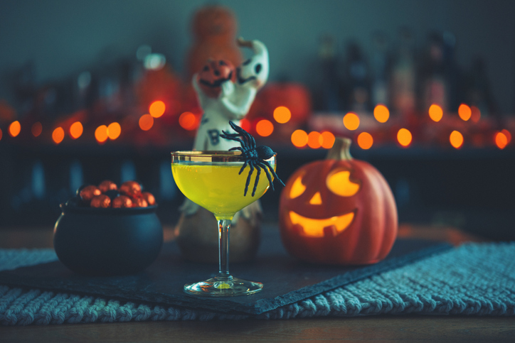 Halloween drink.