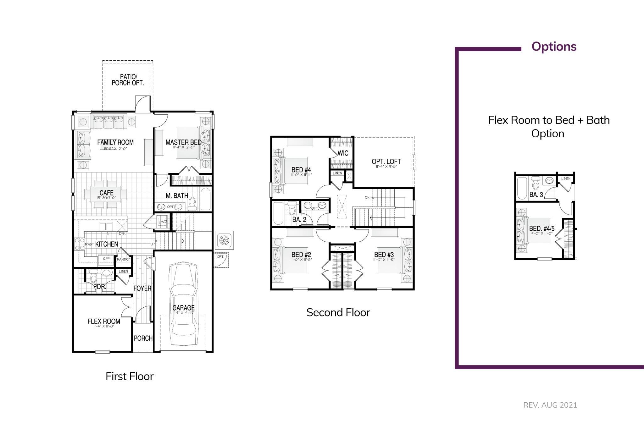 Adger II Floor Plan