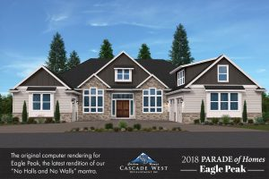 The Initial 3D Rendering for our Parade Home  - Eagle Peak