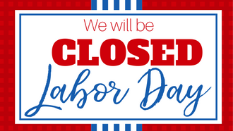 Transformative image throughout closed for labor day printable sign