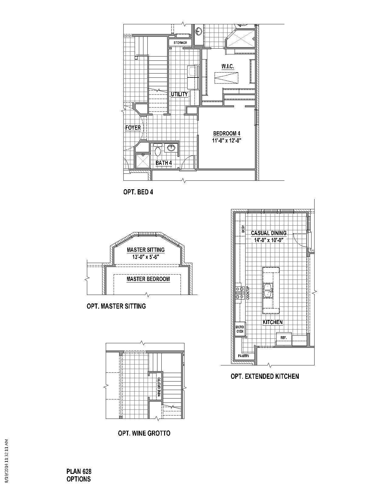 Plan 628 Floor Plan