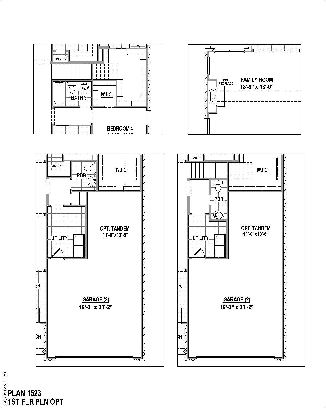 Plan 1523 Floor Plan