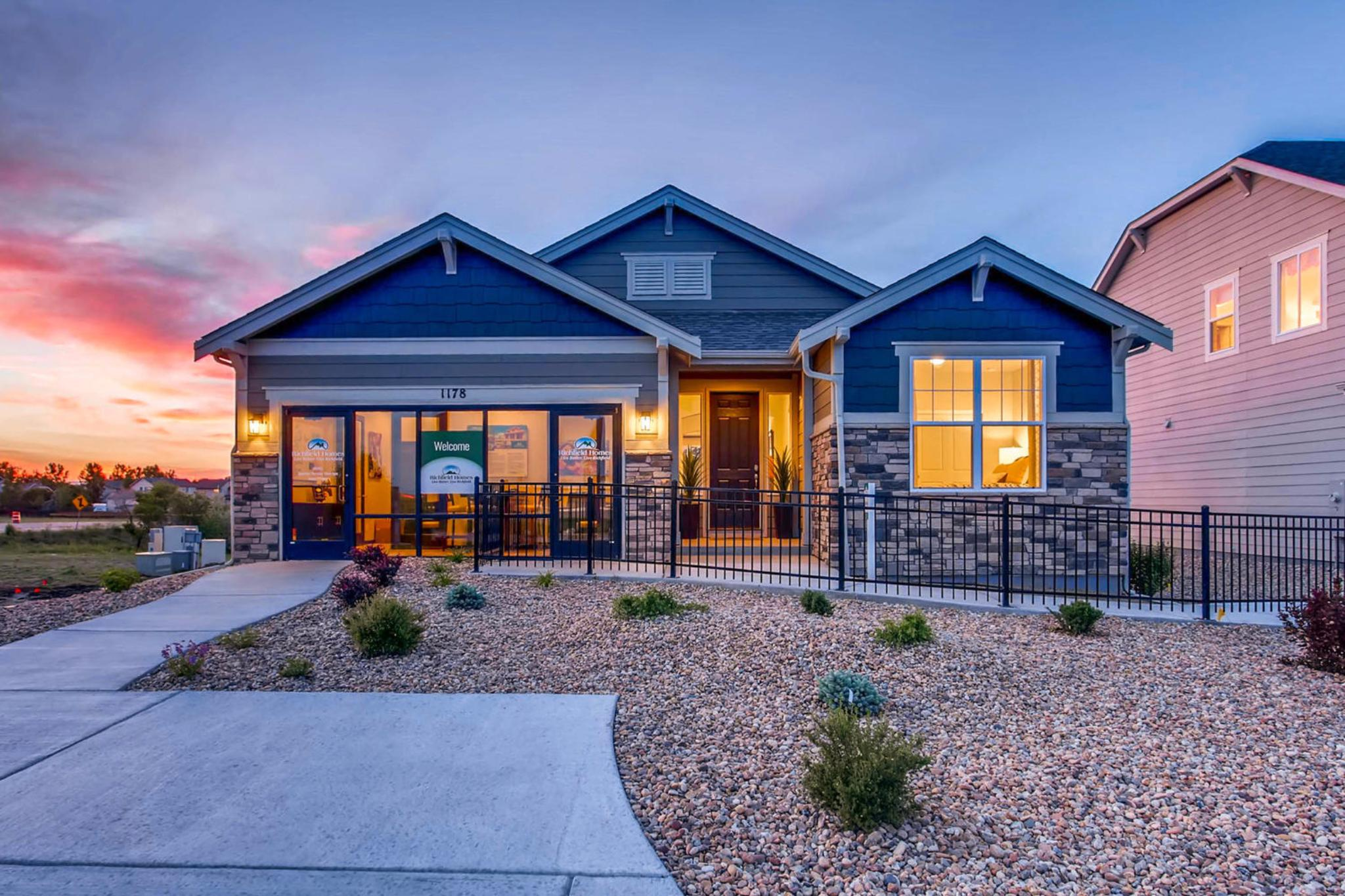 Prairie Star- Homestead Collection | Richfield Homes on
