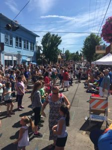 Thousands of fun-loving families showed up to this 4th of july event.
