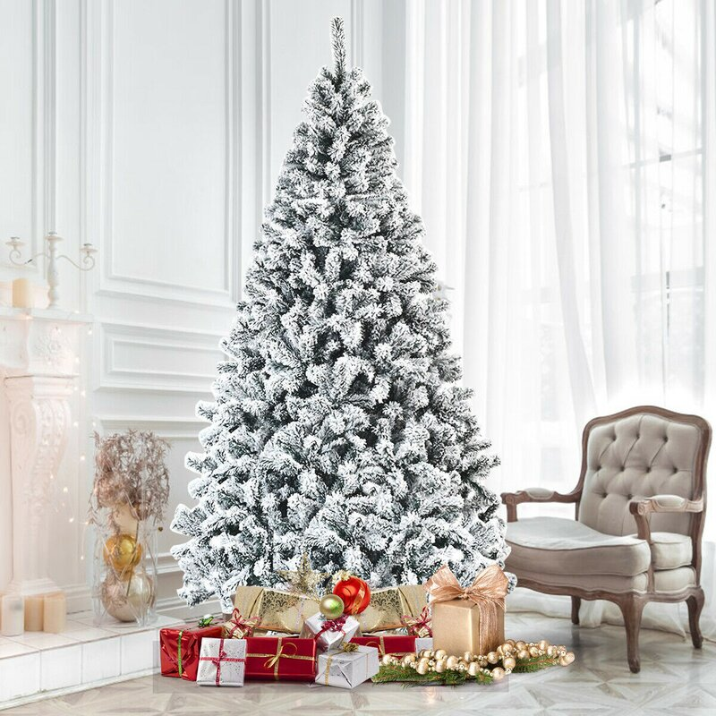 Flocked Christmas Tree Christmas 2020 Decorating Trends for Your New Home