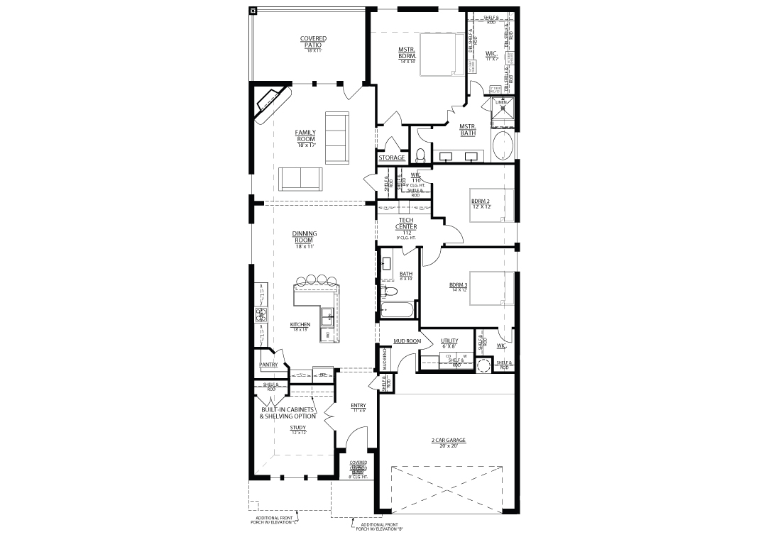 San Saba Floor plan