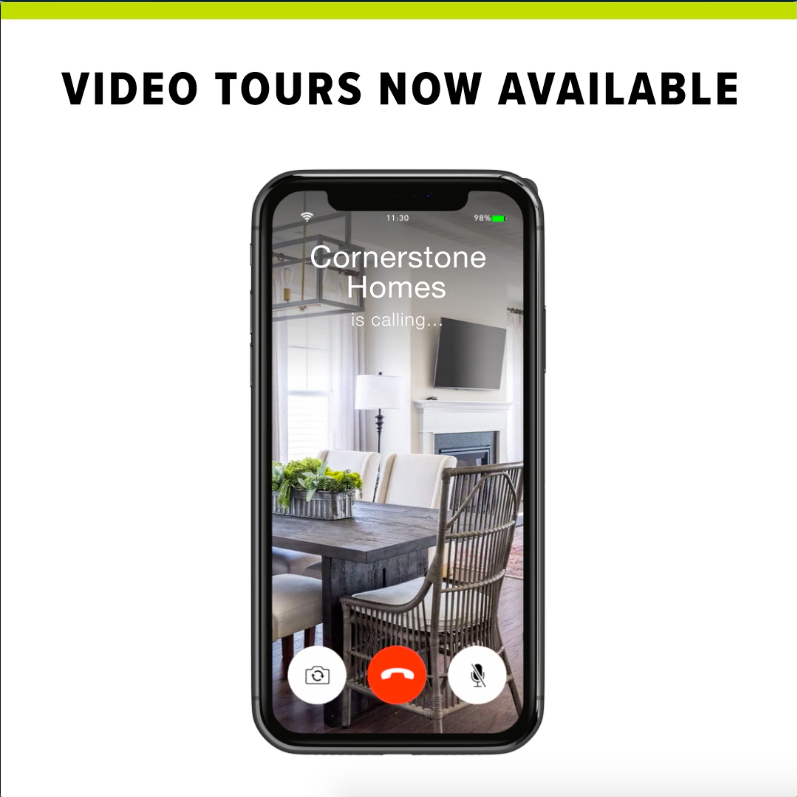 Video tours available.
