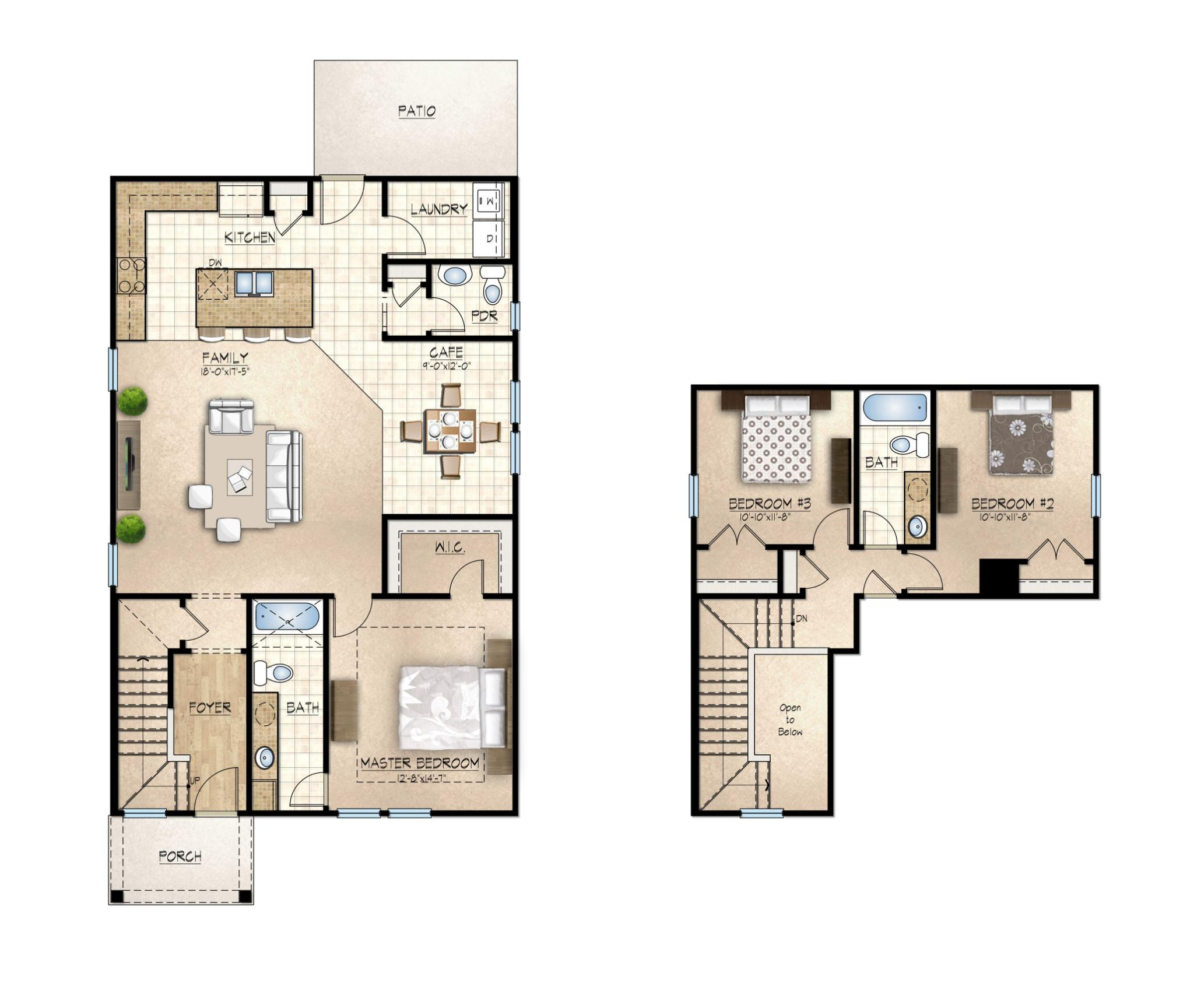 Chicora Floor Plan
