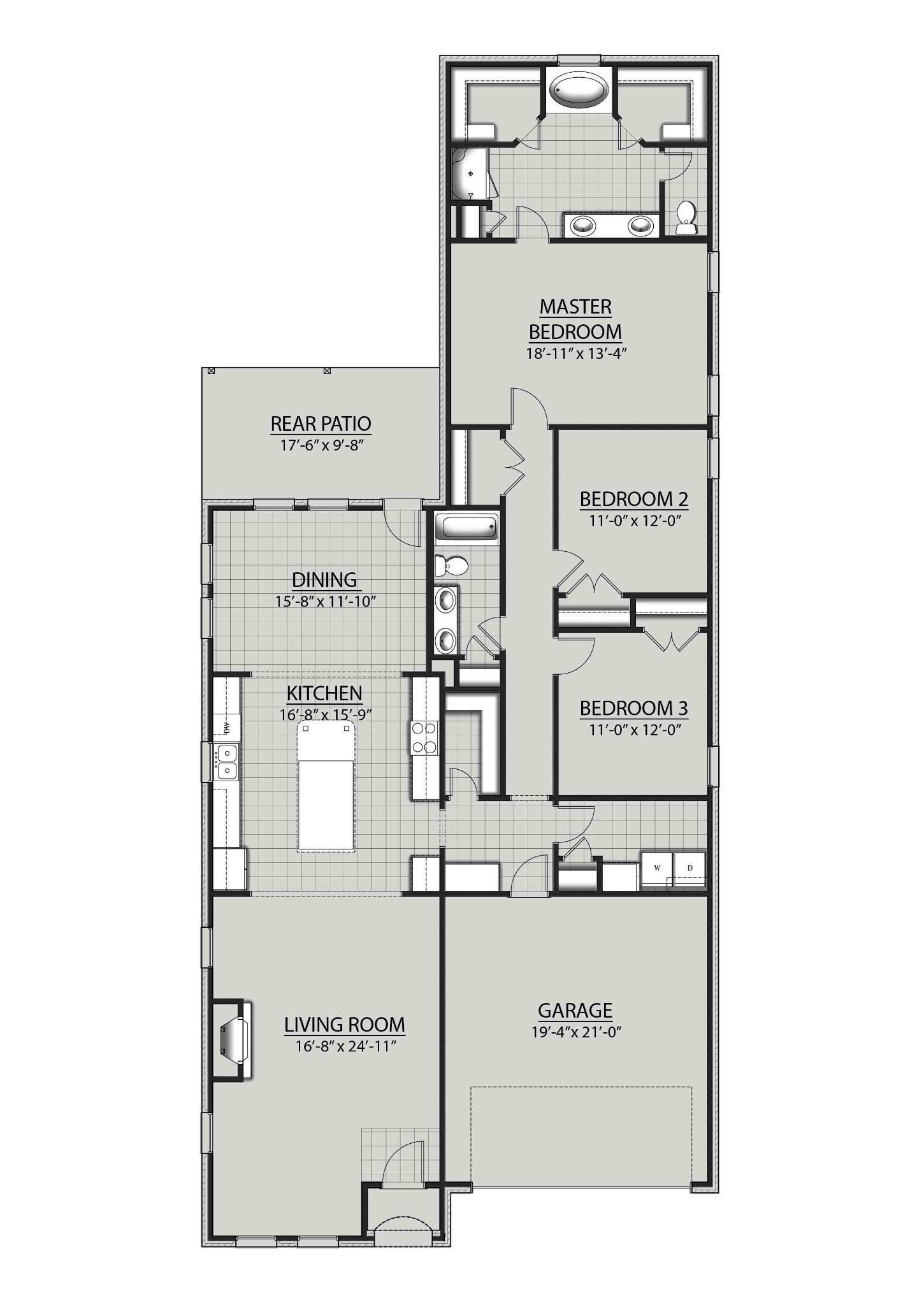 The Maple Iii B Dsld Homes