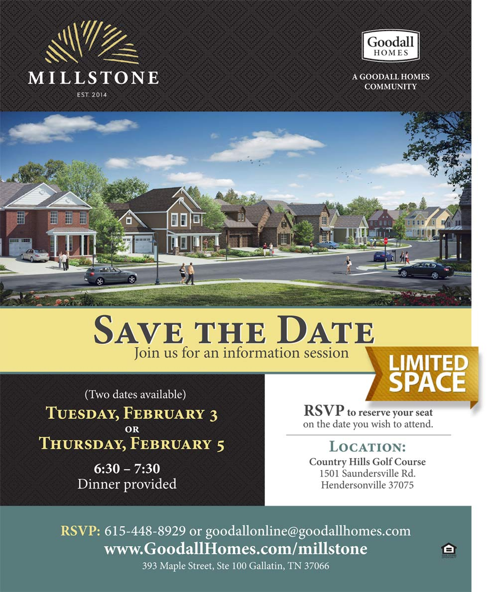 Millstone Save the Date