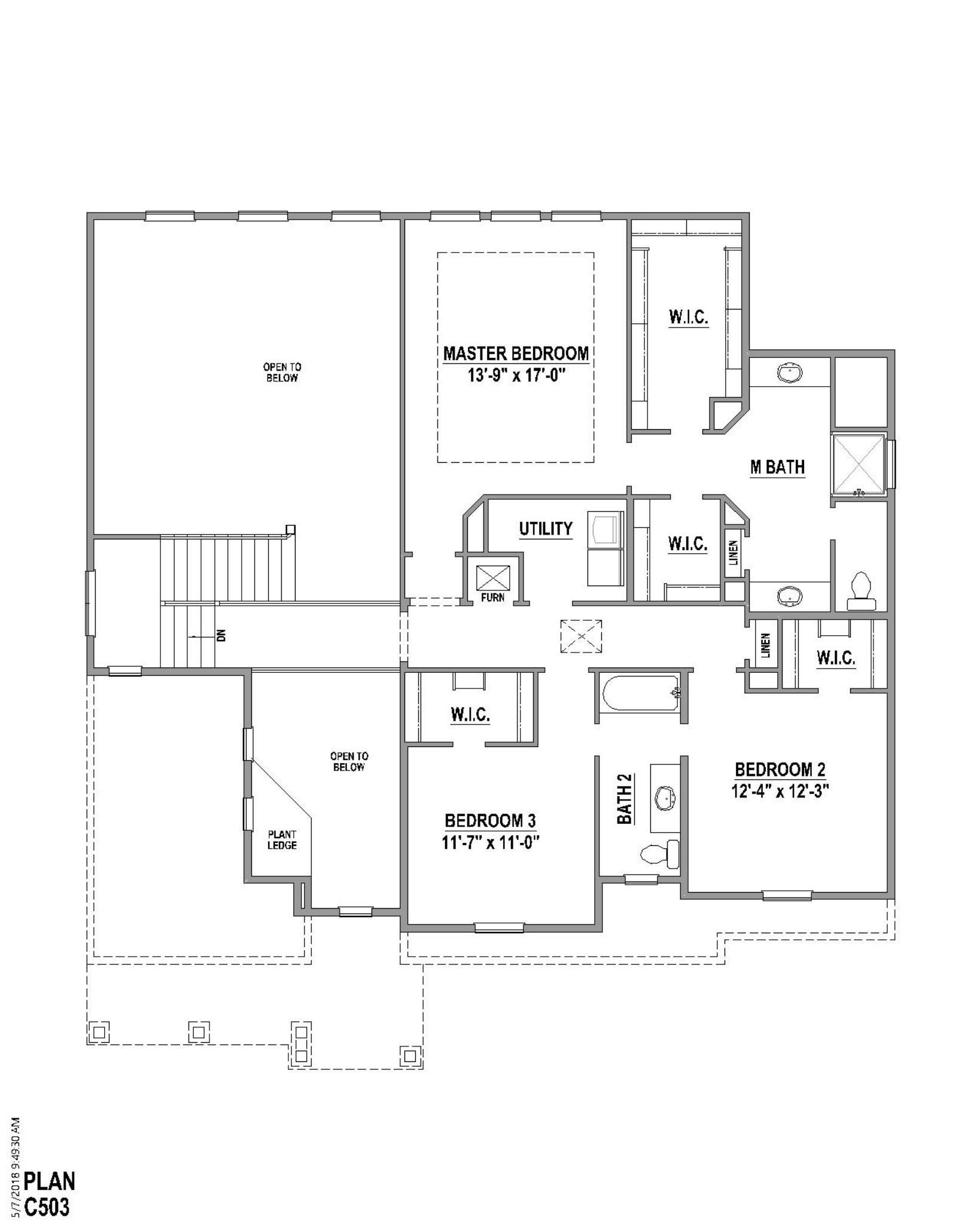 Plan C503 Floor Plan