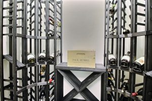 Climate Controlled Wine Room inside Pantry