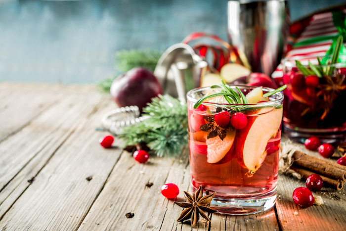 Holiday Cocktails.