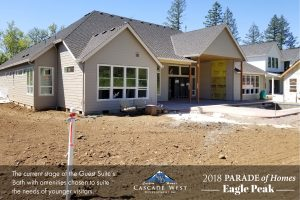 Parade of Homes 2018 : Eagle Peak : Rear Exterior : Currently Under Construction