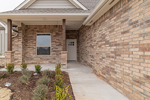 New homes in Piedmont OK by Taber with brick exteriors