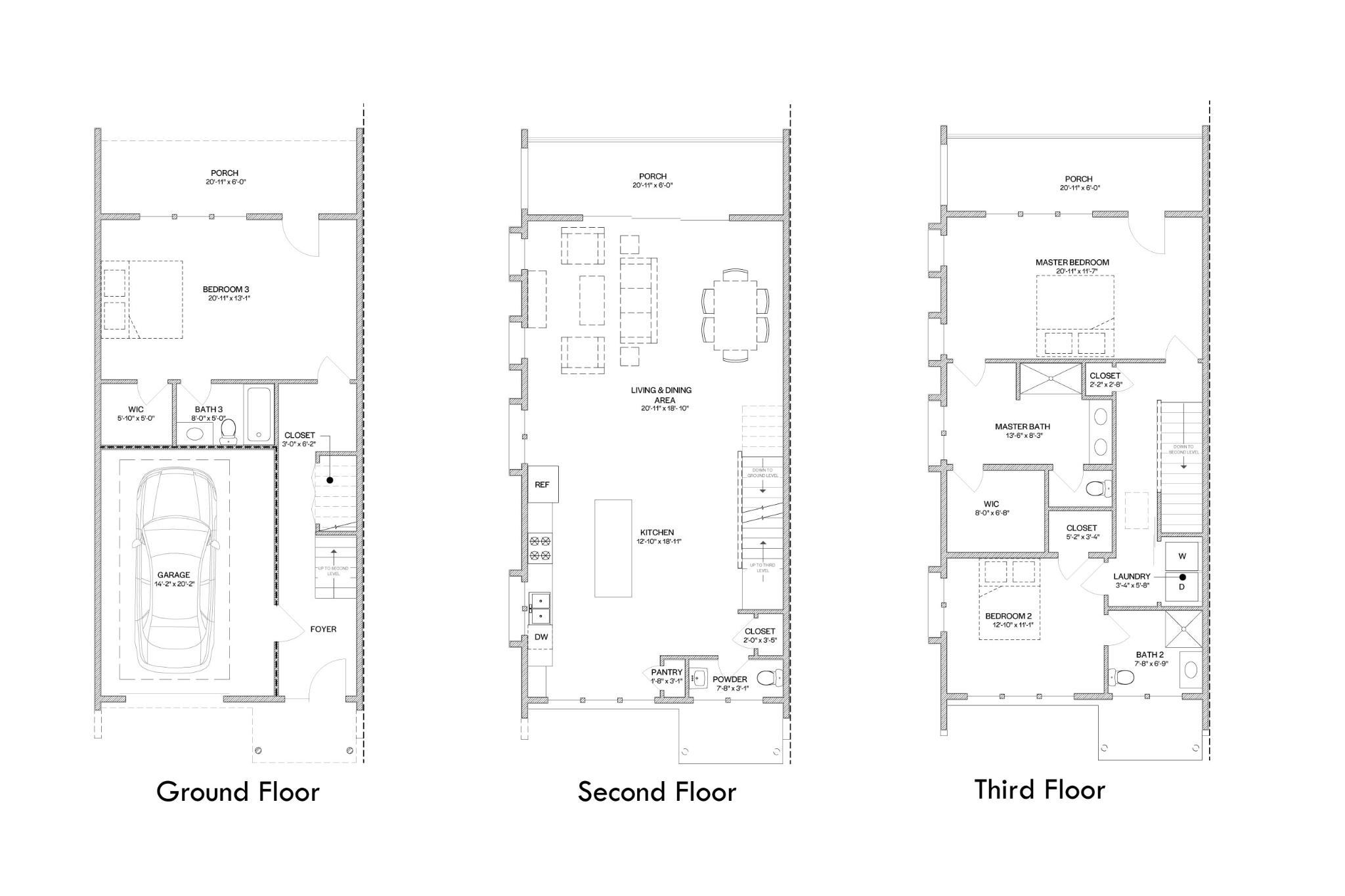 Chelsea Slab Floor Plan
