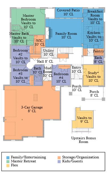 the glenwood preserve floor plan