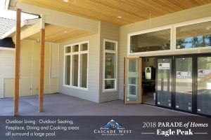Parade of Homes 2018 : Eagle Peak : Outdoor Cooking + Dining : Under Construction