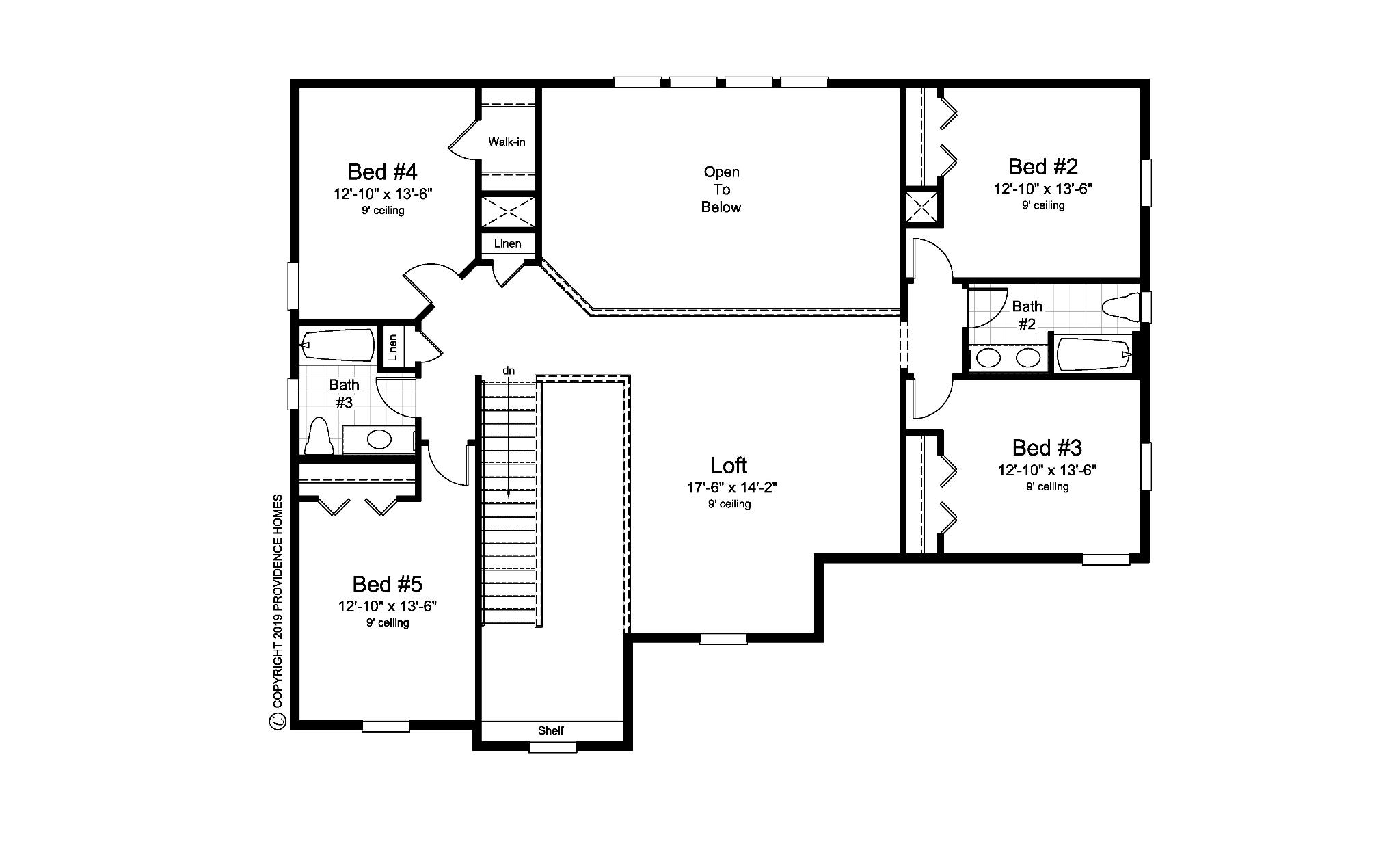 The Hancock Floorplan Floor 2