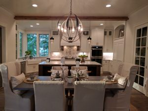 The Wrap-Around Kitchen from The Overbrook