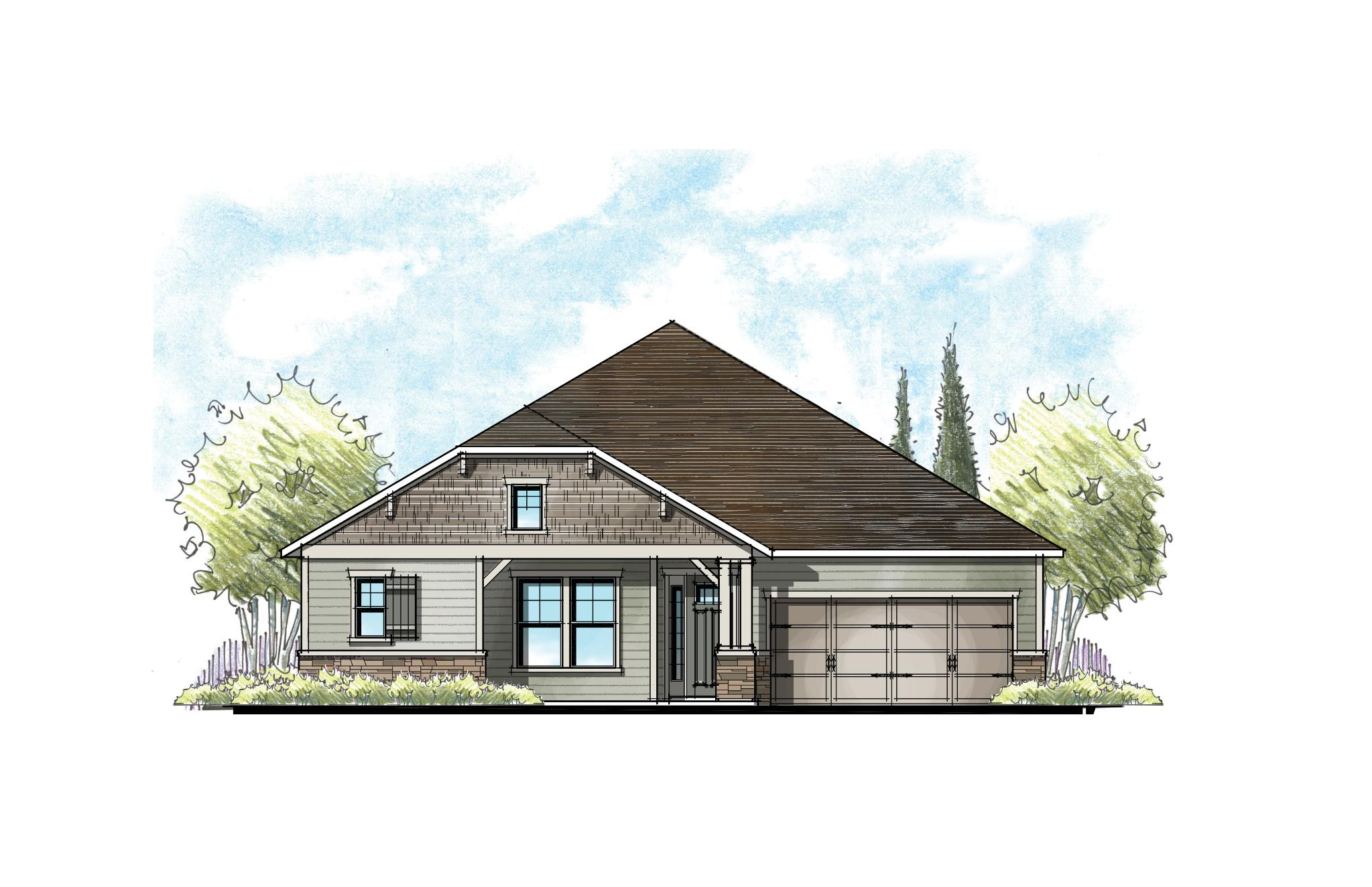 The Ellaville Urban Rustic Elevation 4
