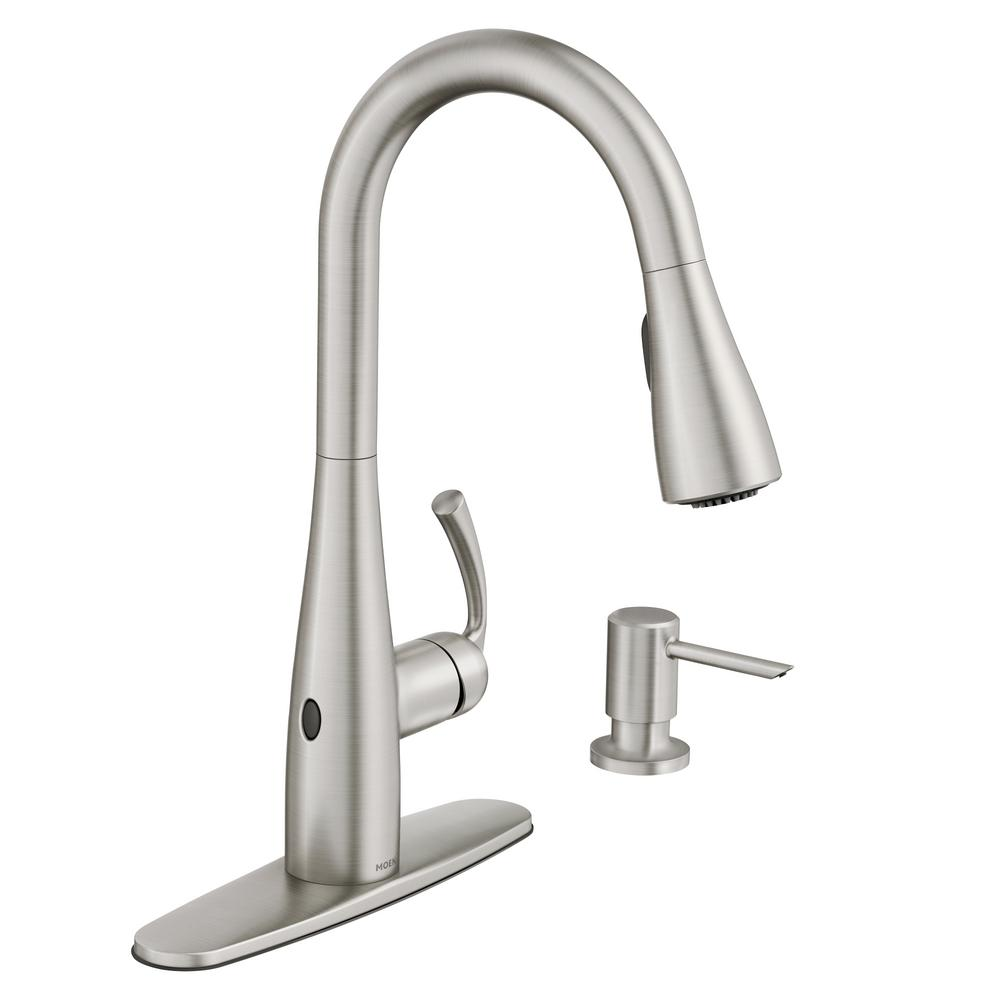 Moen Pull-Down Touch-less Faucet