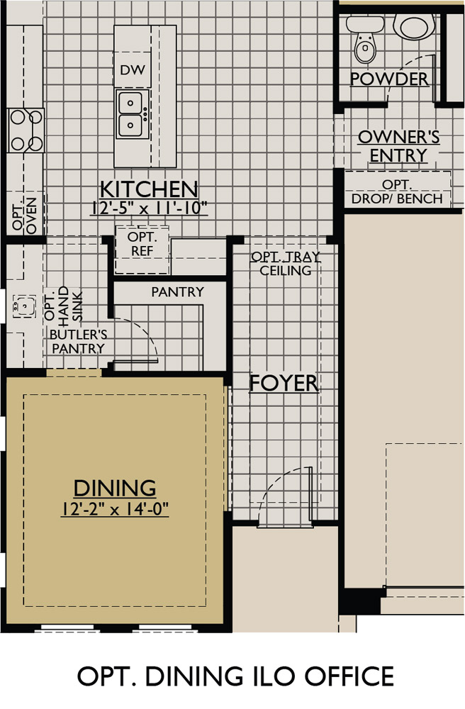 Sierra At Vistancia New Home Floor Plan William Ryan Homes