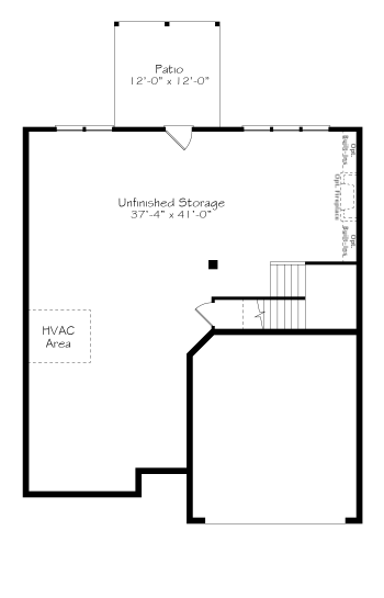 Optional Unfinished Basement