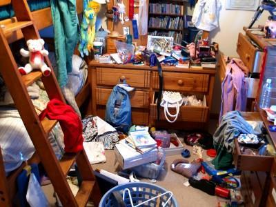 cleaning the clutter