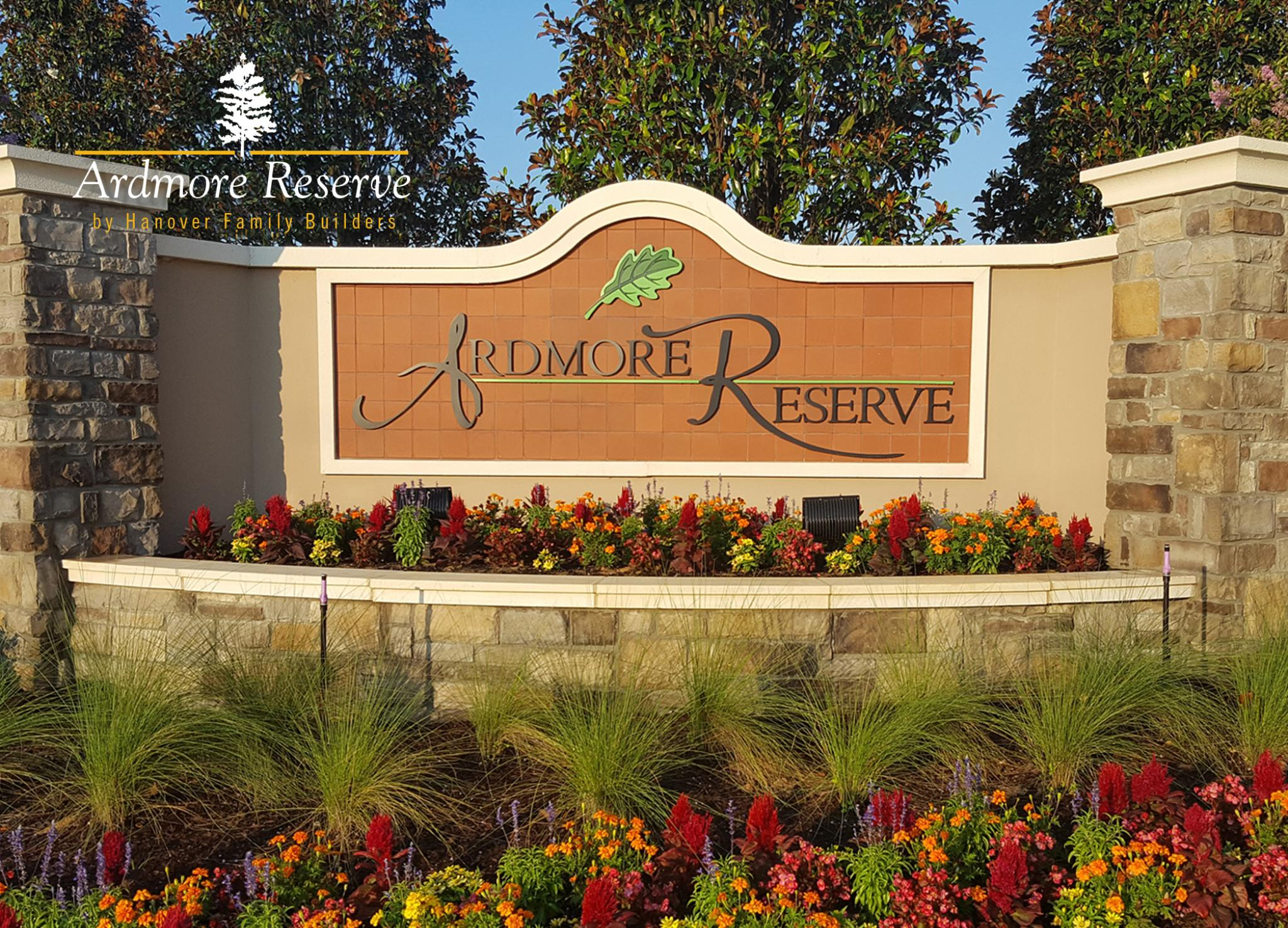 Ardmore Reserve | New Home Community | Hanover Family Builders
