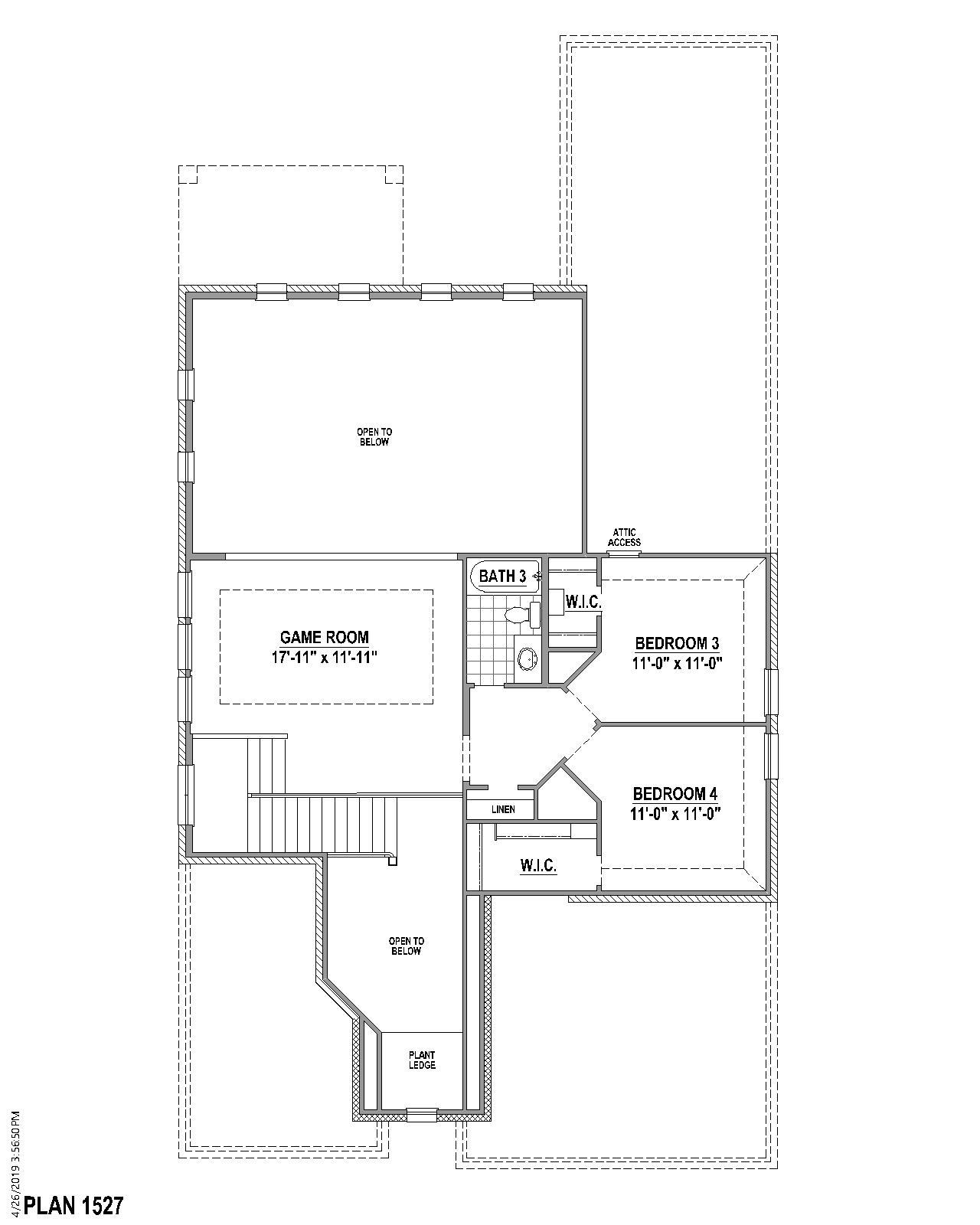 Plan 1527 Floor Plan