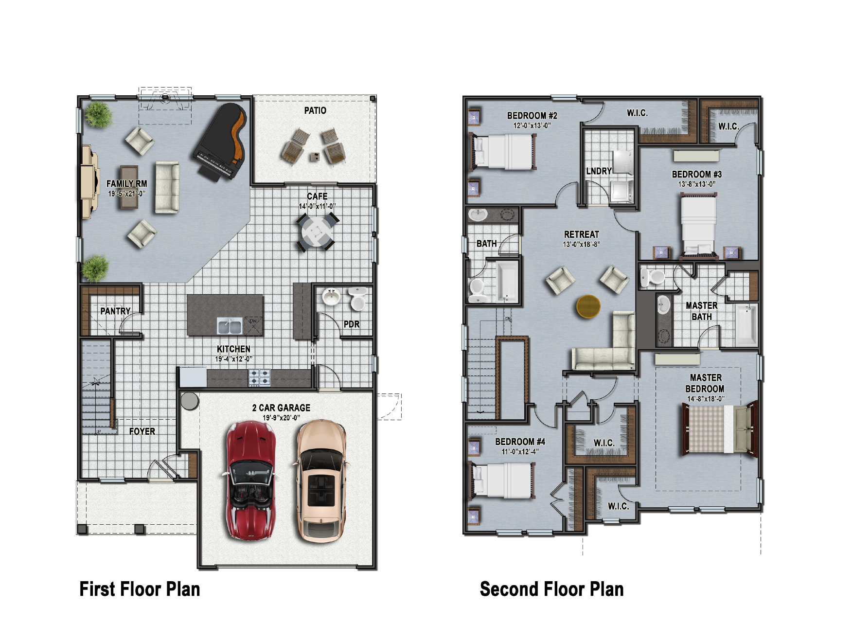 Florence II Floor Plan