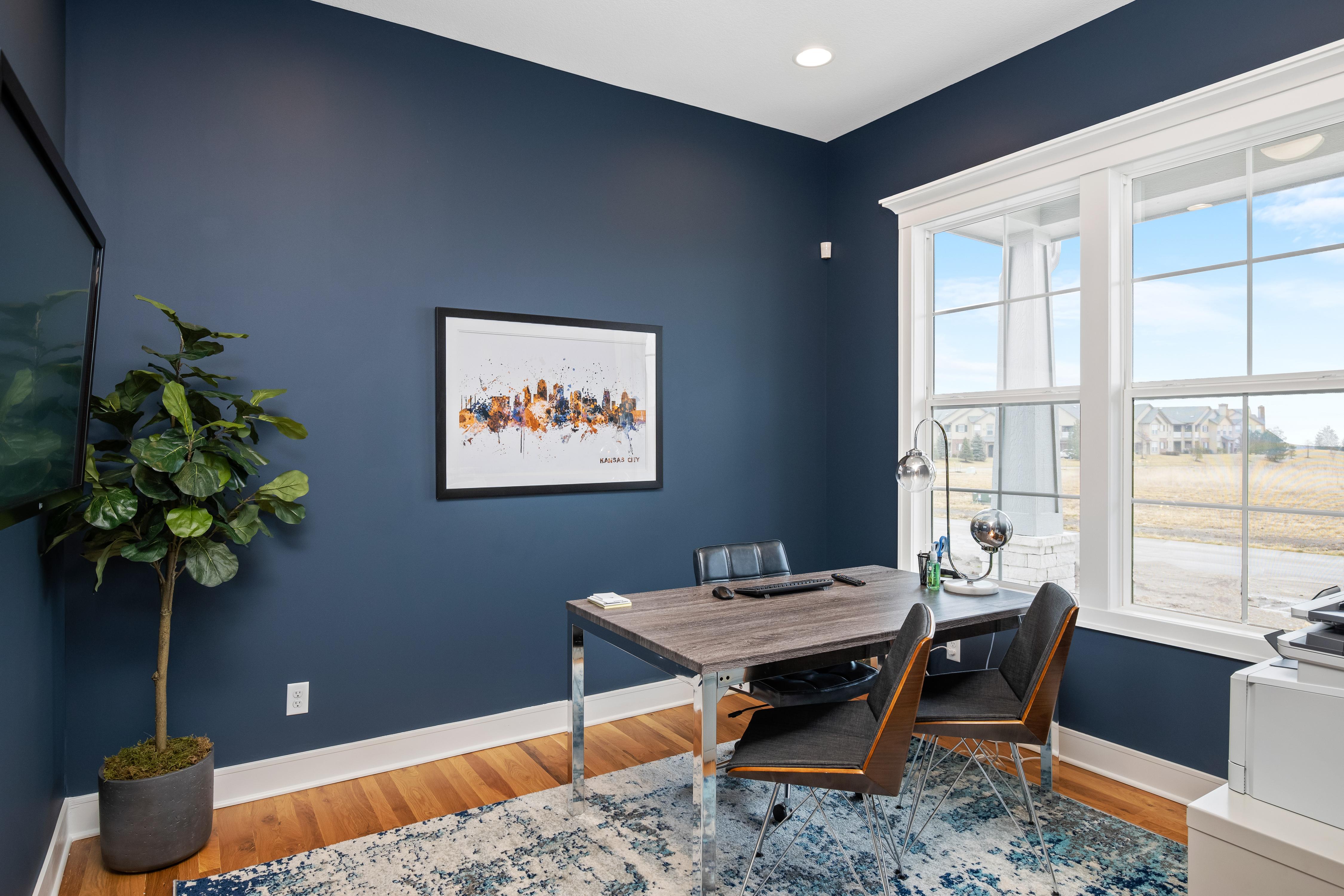 Inspired Homes Inglenook home office