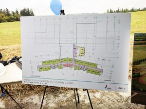 The Floor plan for Level 2 of the new 5-8 Grade School Complex