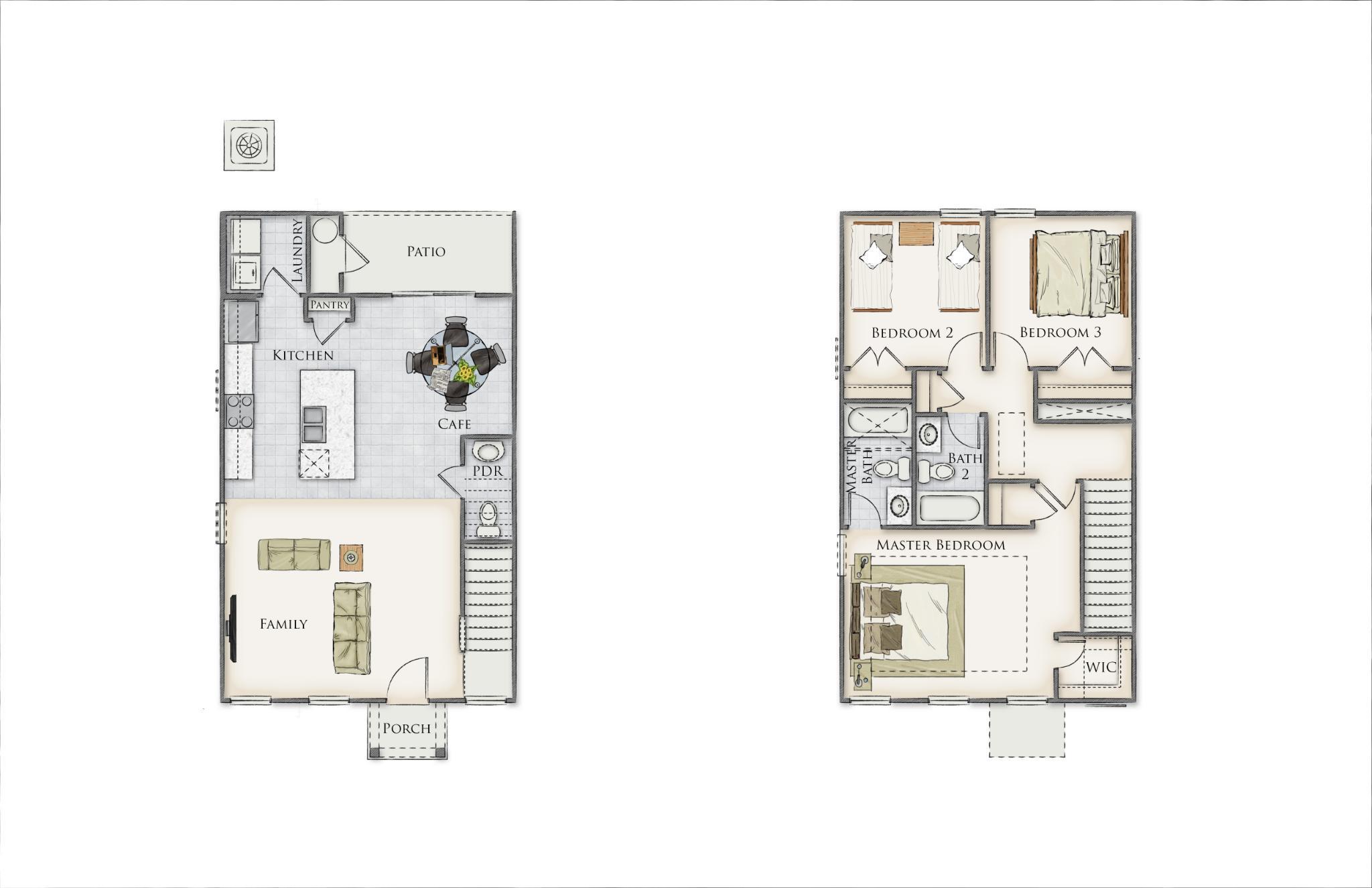 Kiawah Floor Plan