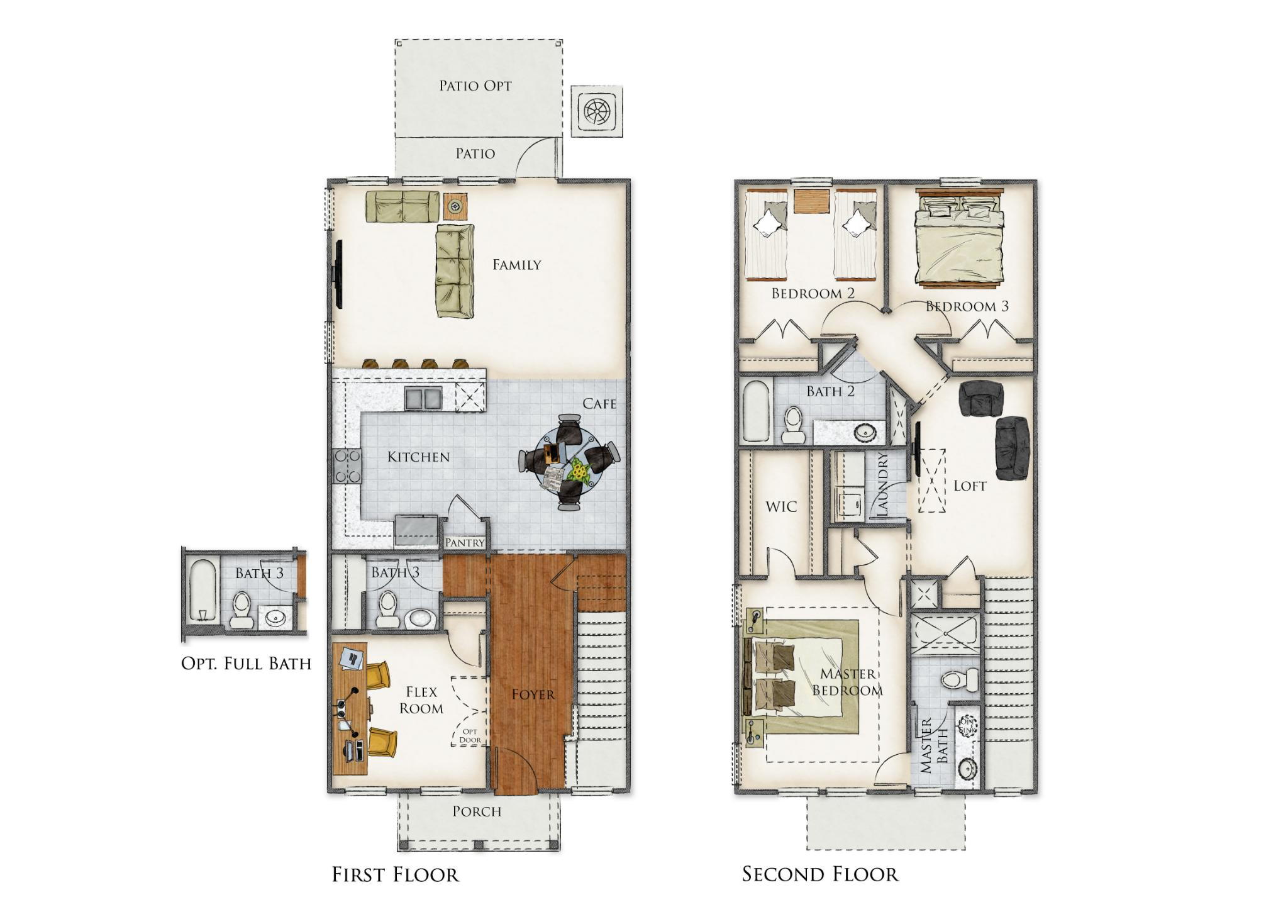 Church Creek Floor Plan