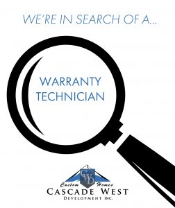 Currently Looking for a Warranty Technician to Join Our Team!