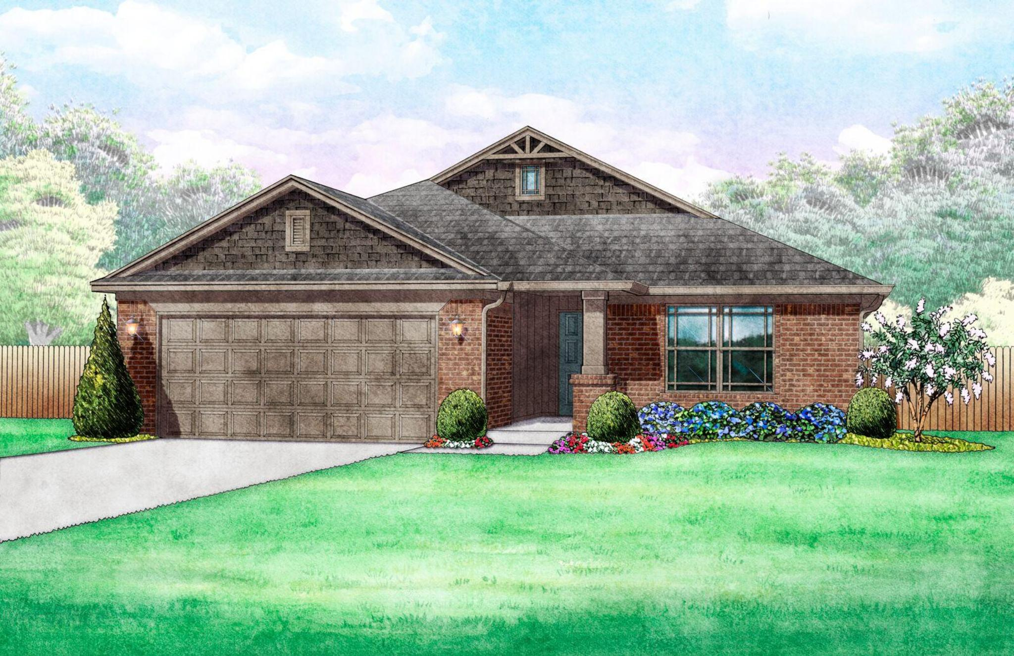 Northbrooke New Homes in Edmond OK