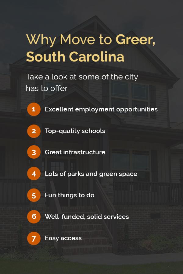 why move to Greer, South Carolina