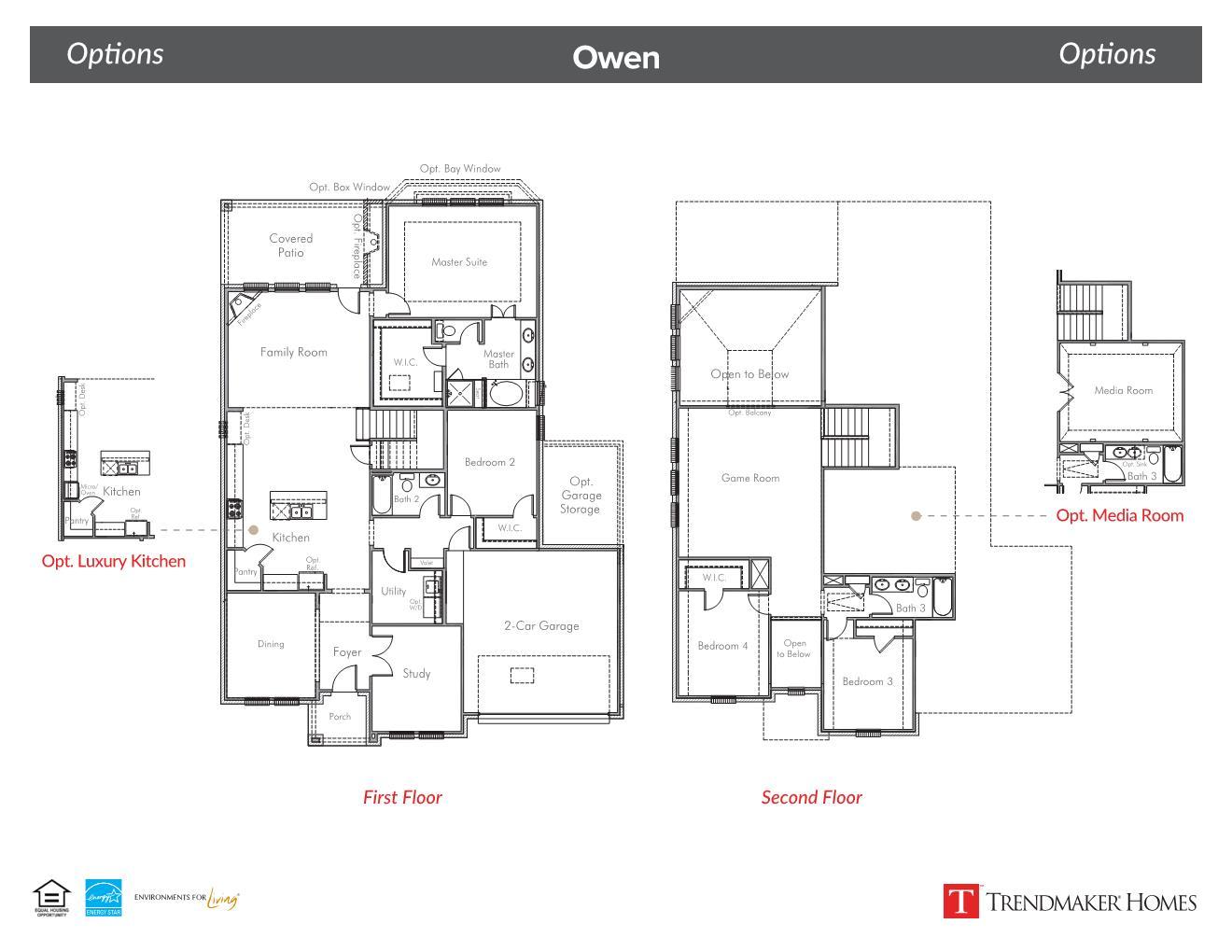 Owen floor plan - Glen View