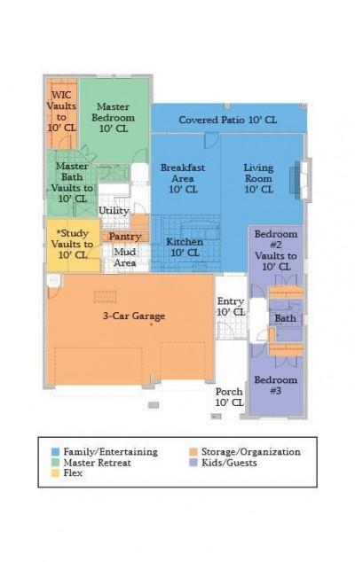 Kincaide floor plan