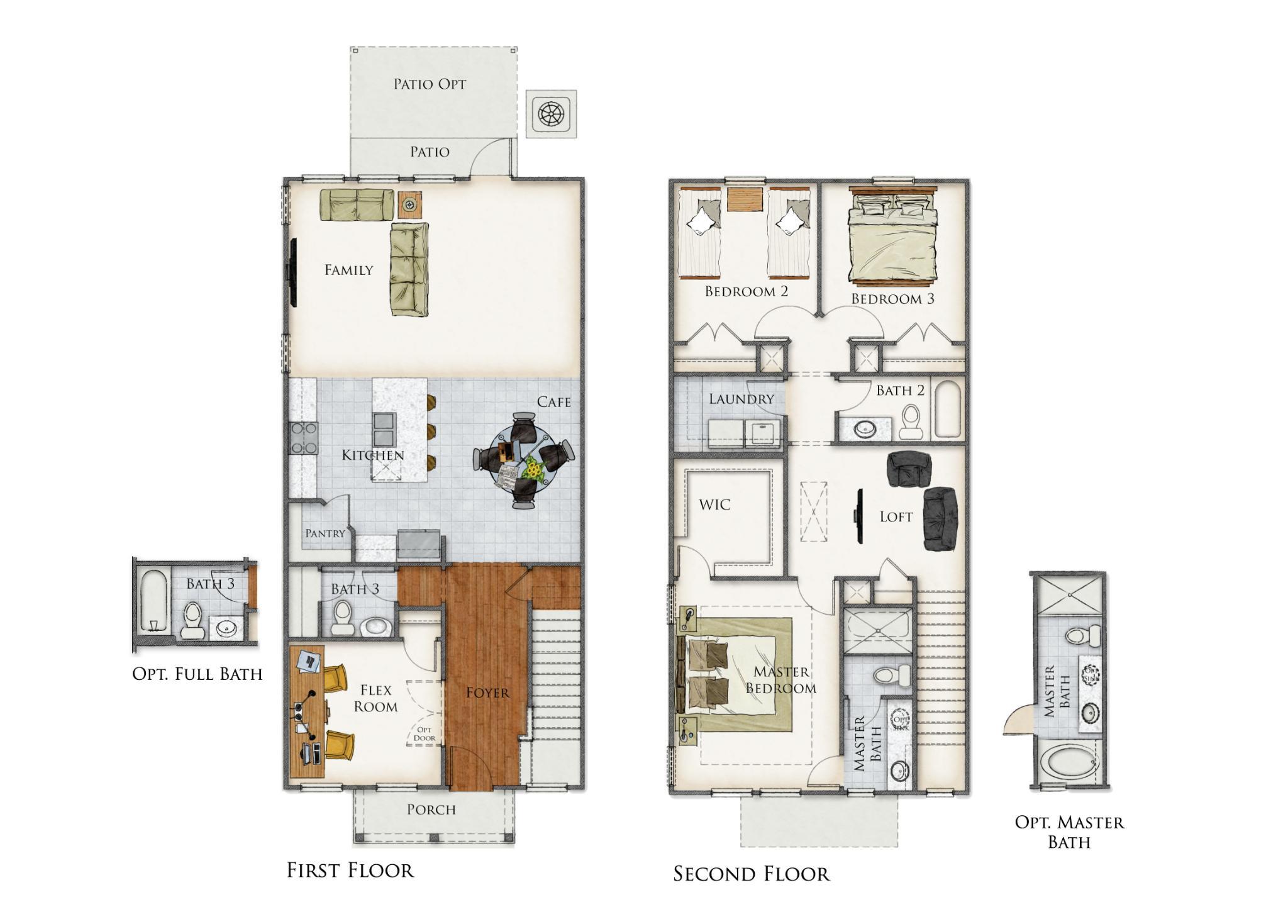 Coosaw Creek Floor Plan